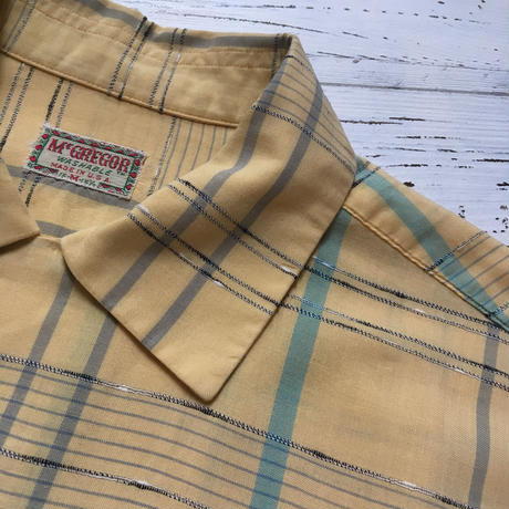 1950's McGREGOR L/S Shirt