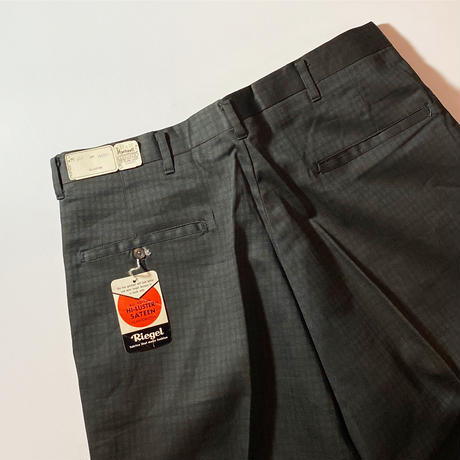 1960's Hartwell Tapered Pants Deadstock