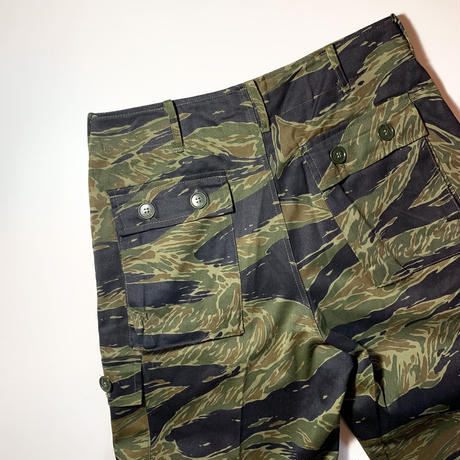 1960's US.ARMY Tiger Stripe Trousers Deadstock