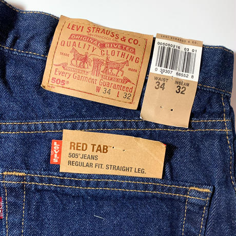 2000's Levi's 505 Denim Pants Deadstock