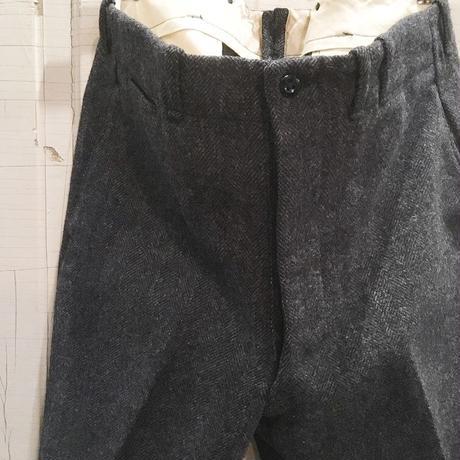 1940's〜 Unknown Herringborn Wool Trousers