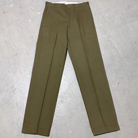 1960's Unknown Pique Tapered Pants