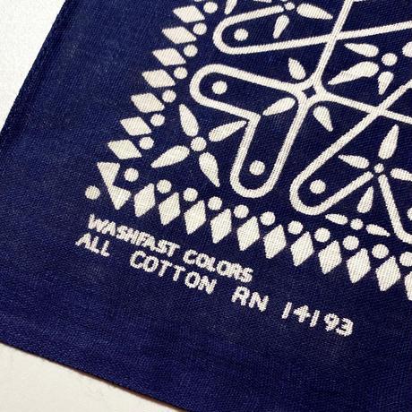 1960's〜 WASHFAST COLOR Bandanna Deadstock