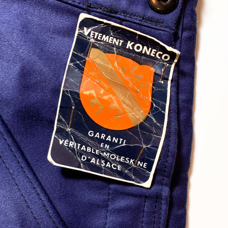 1950's KONECO Moleskin Overall Deadstock