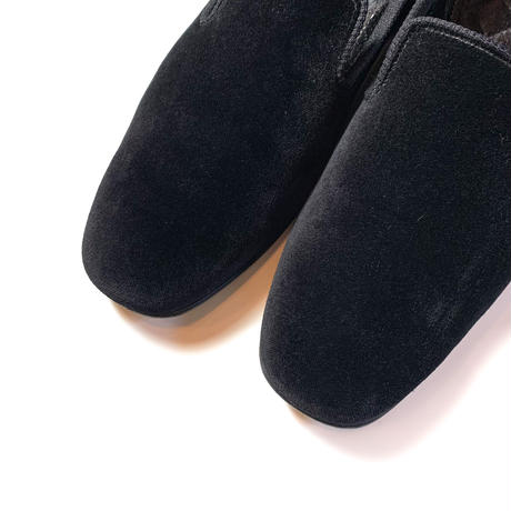 2000's PEAL&CO Brooks Brothers Velvet Shoes Deadstock