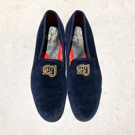 1990's〜 Carroll&Co. Velvet Shoes