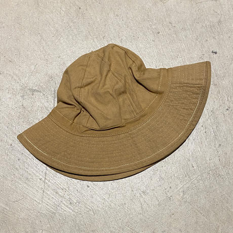 1910's US.ARMY Brown Twill Hat Deadstock