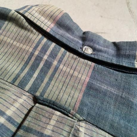 1960's McGREGOR Indian Madras L/S Shirt