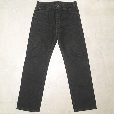 1990's Levi's 505 Black Denim Pants