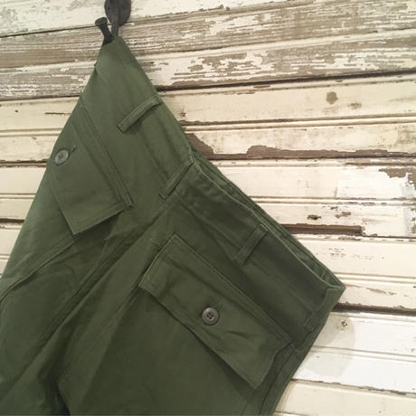 1960's US.ARMY Utility Trousers Deadstock
