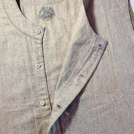 1940〜50's French Unknown Farmer Vest Deadstock