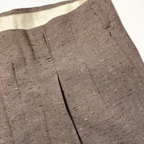 1950's Unknown Rayon Trousers Deadstock