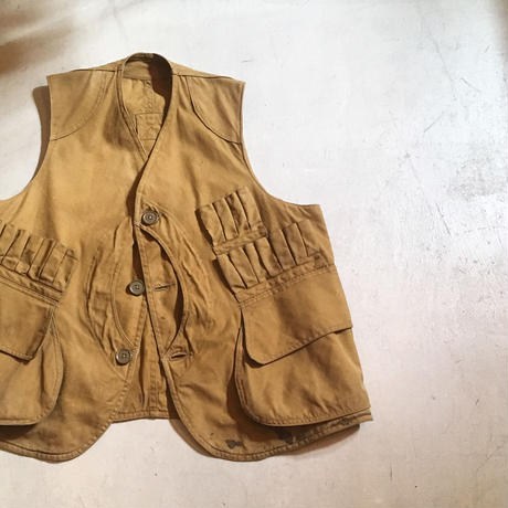 1920〜30's FIELD MASTER Hunting Vest
