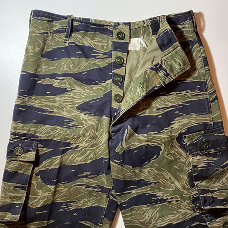 1960's US.ARMY Tiger Stripe Trousers