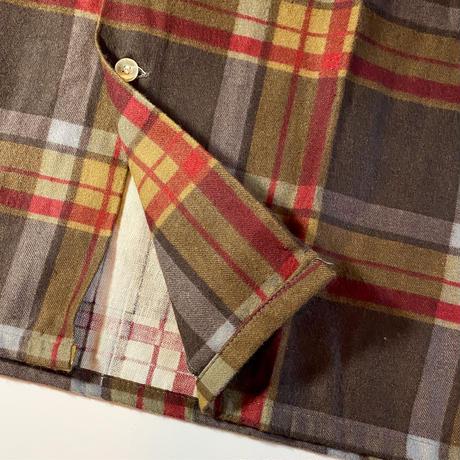 1960's Fleetline Flannel L/S Shirt Deadstock
