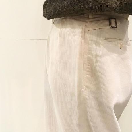1930〜40's BIB B CLOTH  Pique Trousers