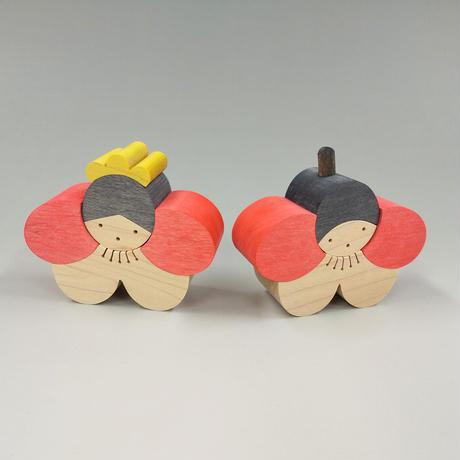 梅の花立ちびな(21052805)