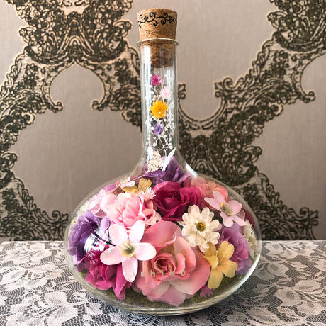 "花ギフト ココロハナwhisky bottle  ""Lamp of Aladdin"""