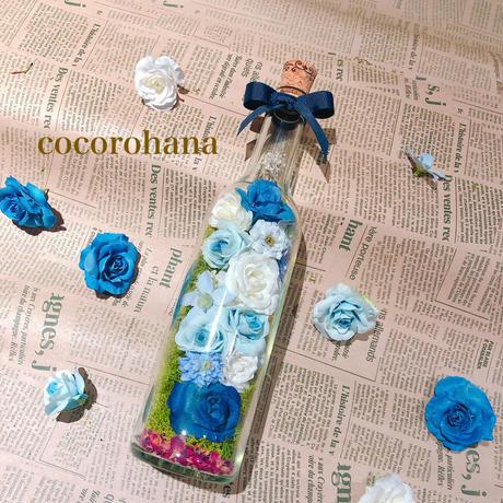 Zoom online  lesson♡ココロハナキット「Bottle flower」