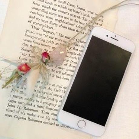 Stone Whitesage flower charm