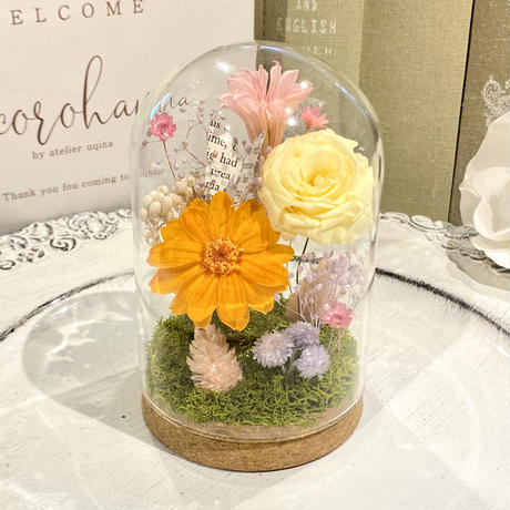 cocorohana Flowers Dome ORANGE