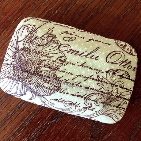 Antique Message soap