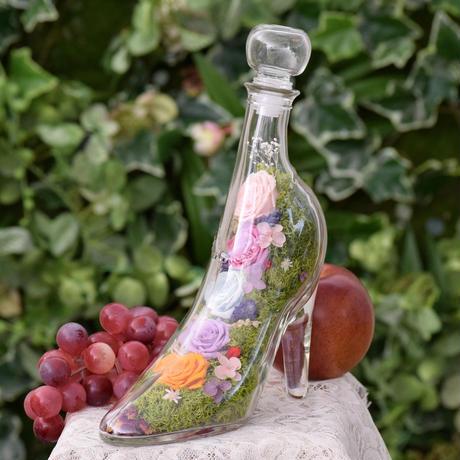 "【Order】 cocorohana  ""ガラスの靴"" Cinderella Flower Botanical"