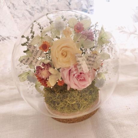 Zoom online  lesson♡ココロハナキット「Botanical dome」