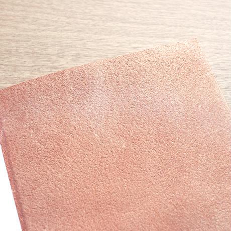 裏紙ノート - Lサイズ(ヌメ革 生成り)