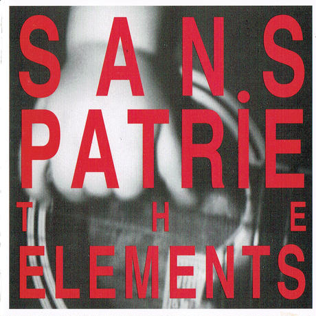 ryotaro 参加バンド THE elements  CD「SANS PATRiE」  (1drinkチケット付き)  (with 1drink ticket)
