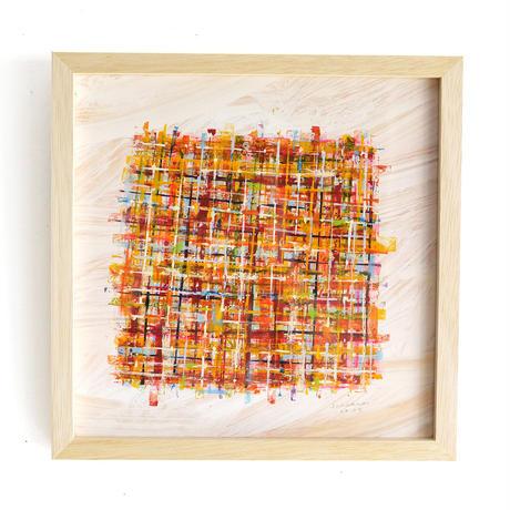 杉山巧 作品「色を編む」