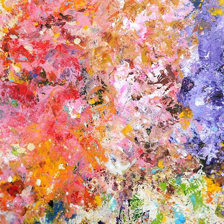 杉山巧「ゆれる花たち」