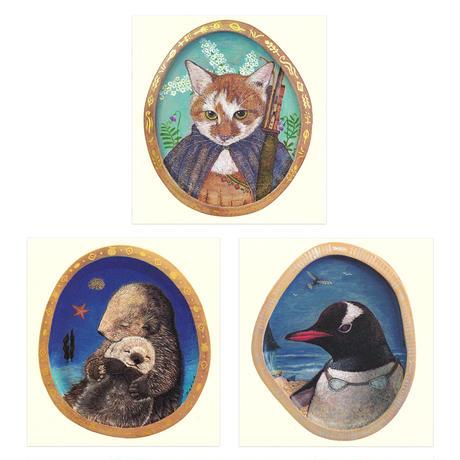 猫野ぺすか 大判ポストカード