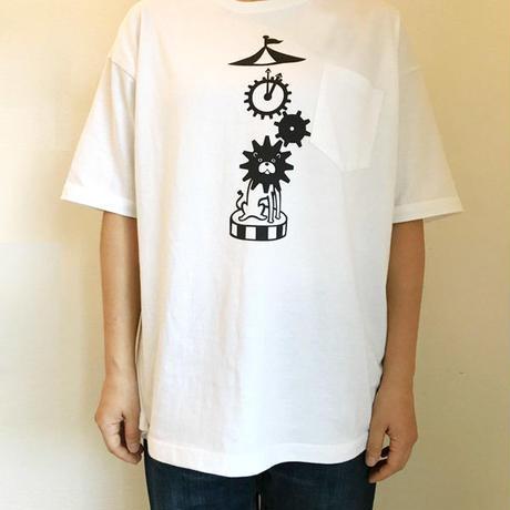 オカダン・グラフィック「はぐるまらいおん」Tシャツ