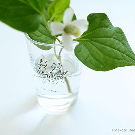 植田真 りすとかえるの旅グラス