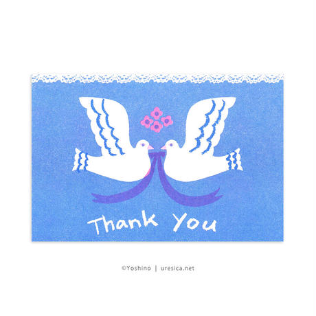 芳野 Thank You カード