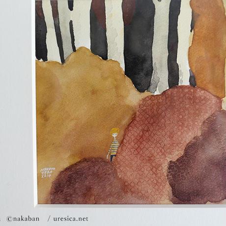 nakaban + 植田真 作品『誰かと誰か』