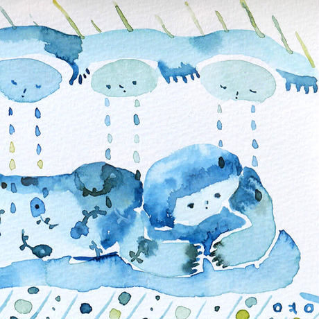 しんよんひ 作品「雨の日」