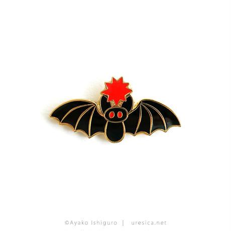石黒亜矢子 大蝙蝠ピンバッジ