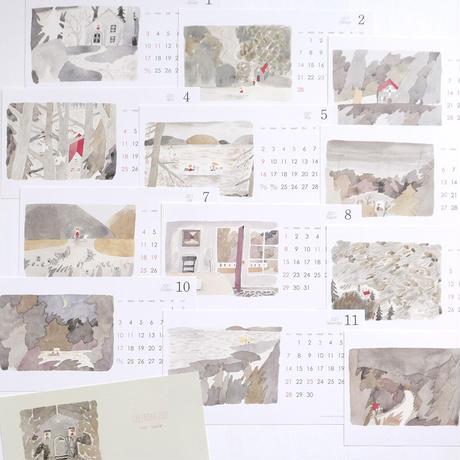 植田真 2021 カレンダー