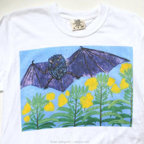 竹上妙 だんだんだんだんTシャツ