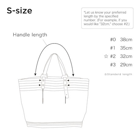 CANVAS TOTE S-size #WHITE