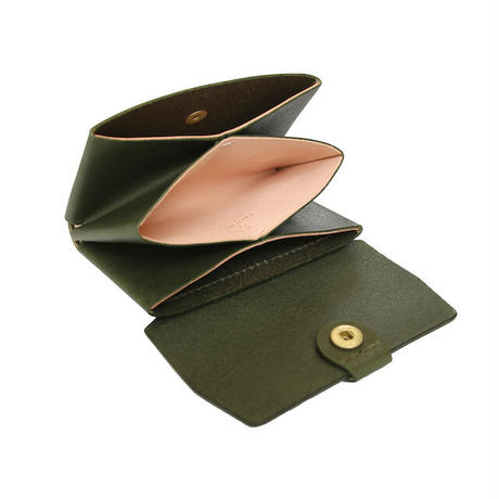 "【LIMITED EDITION ""FOREST GREEN""】STW-05 Compact Wallet"