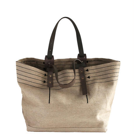 CANVAS TOTE M-size #BLACK