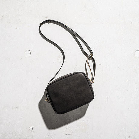 "BP-01_PEEL BAG ""Square Wide"" #BLACK"