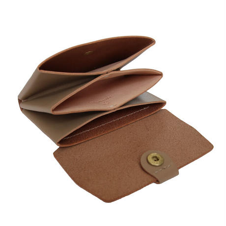 "【LIMITED EDITION ""SAND BEIGE""】STW-05 Compact Wallet"