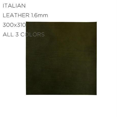 ITALIAN LEATHER (L 300X310) 1.6mm