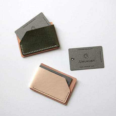 1. CARD CASE A - Leather Crafting Kit