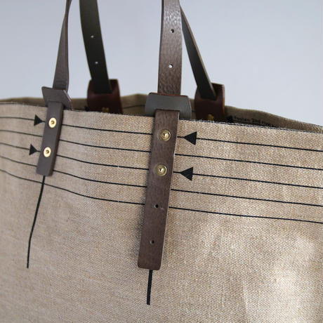 CANVAS TOTE S-size #BLACK