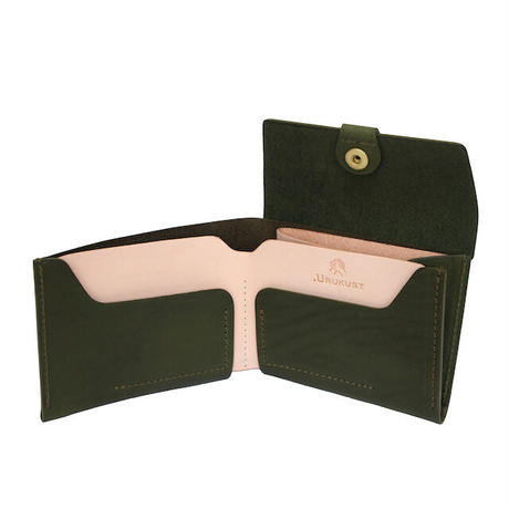 "【LIMITED EDITION ""FOREST GREEN""】STW-03 Bifold Wallet"